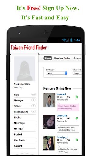 Taiwan Friend Finder