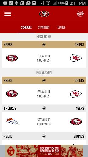 San Francisco 49ers screenshot