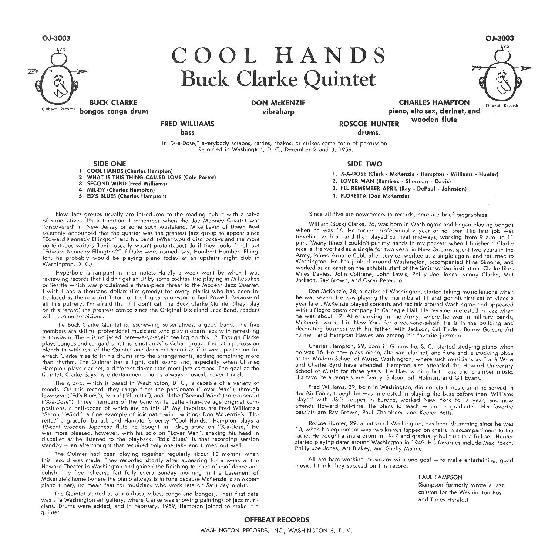 Buck Clarke Quintet