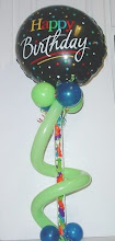 """Photo: 21"""" Tube of treats, balloons, etc."""