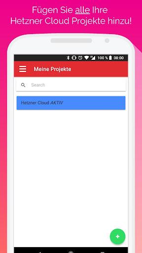 Hetzner Cloud Mobile screenshot 2