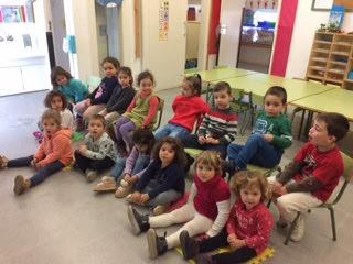 Compartint amb les nenes i els nens de P3