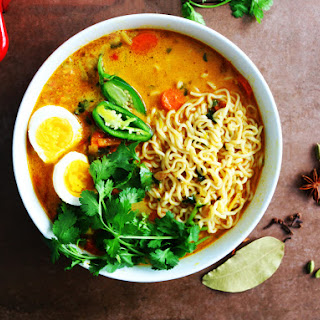 Chicken Kurma Inspired Ramen