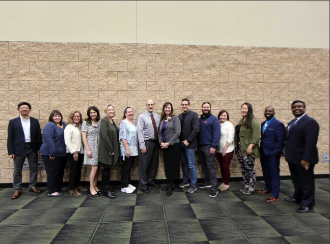 2018 Incoming and Outgoing Board Members