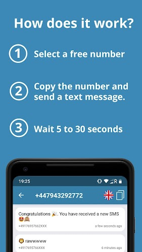 Download Receive SMS - Virtual numbers APK latest version