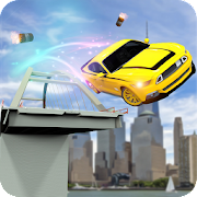Half Bridge Car Stunt Simulator: High Speed Race