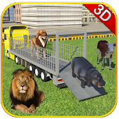 City Zoo Animal Transport 3D
