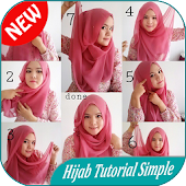 300 Hijab Tutorial Simple 2018