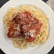 Meatballs in Tomato Sauce (serves 2)