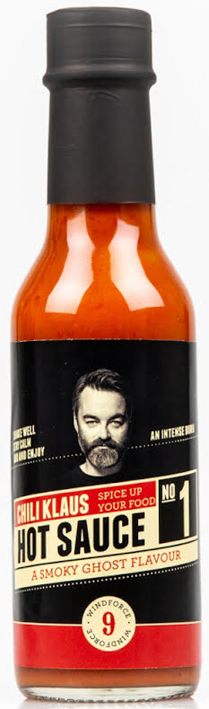 Hot Sauce No. 1 - Smoky Ghost - vindstyrke 9 – Chili Klaus