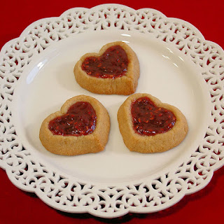 Almond Double Thumbprint Heart Cookies {Paleo}