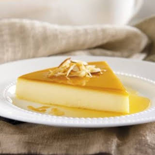 Holiday Recipes | Almond Coconut Flan.