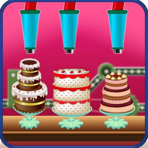 Chocolate Birthday Cake Factory - Dessert Making (game)