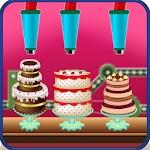 Chocolate Birthday Cake Factory - Dessert Making Icon