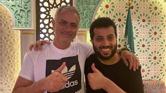 Turki Al-Sheikh está aprendiendo de maestros como Mourinho.