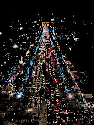 Paris  nuit di D. Costantini