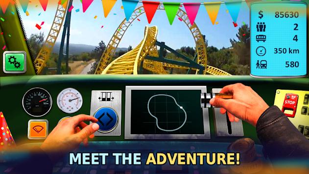 Roller Coaster Train Simulator