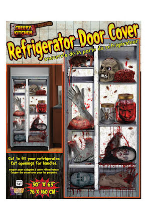 Stickers till kylskåpsdörr