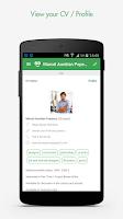 Screenshot of CeeVee -  get job offers
