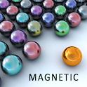 Magnetic balls bubble shoot icon