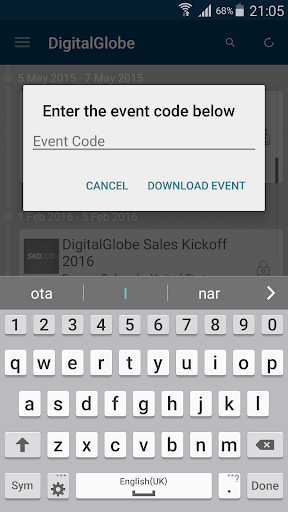 玩免費商業APP|下載DigitalGlobe Event App app不用錢|硬是要APP