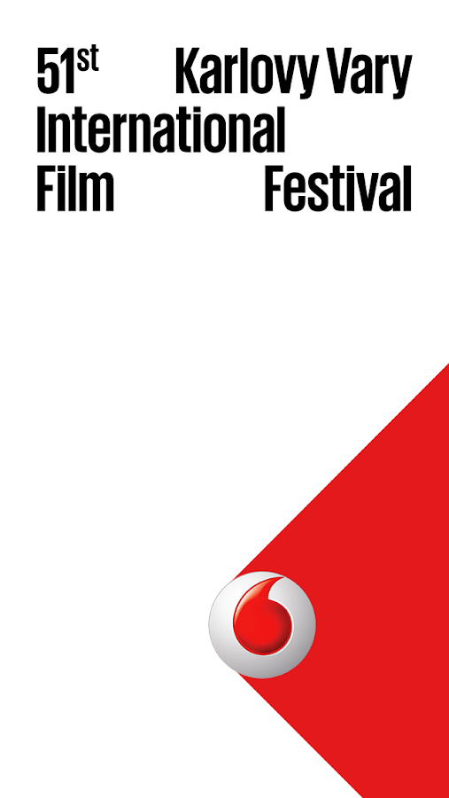 Vodafone KVIFF Guide 2016- screenshot