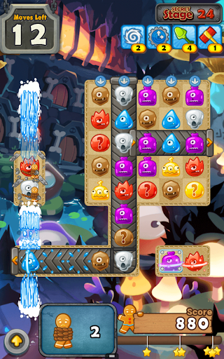 MonsterBusters: Match 3 Puzzle screenshot 1