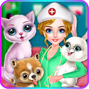 ER Pet Vet - Fluffy Puppy * Fun Casual Doctor Game