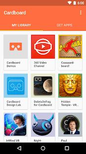 Cardboard- screenshot thumbnail