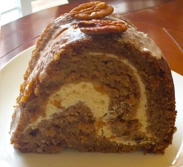 Pumpkin Apple Cheese  Coffee Cake Recipe