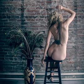 by James Wayne - Nudes & Boudoir Artistic Nude ( studio, implied nude, nude, portraits of women, modeling, art, bodysculpture, artistic nude, implied )