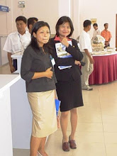 Photo: Ms. Khin Chaw Su (on right)