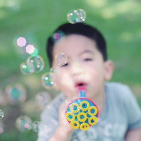 Bubble boy by Syafizul  Abdullah - Babies & Children Children Candids