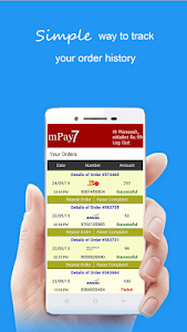 mPay7: Mobile Prepaid Recharge screenshot 2