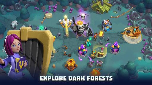 Wild Sky TD: Tower Defense Legends in Sky Kingdom screenshots 21