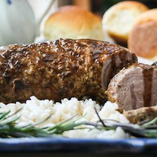 Balsamic Maple Pork Tenderloin