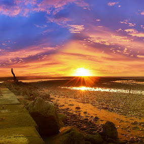 sunset... by Casper Prie - Landscapes Beaches