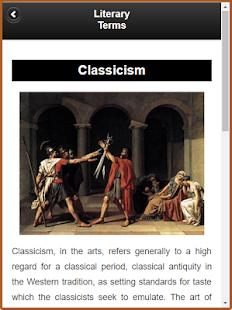 Literary Terms screenshot
