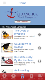 Red Anchor Wealth Management- screenshot thumbnail