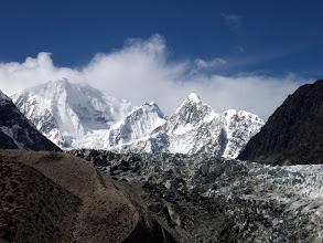 Photo: Passu glacier at 3220 m towards Passu Peak (7284m)