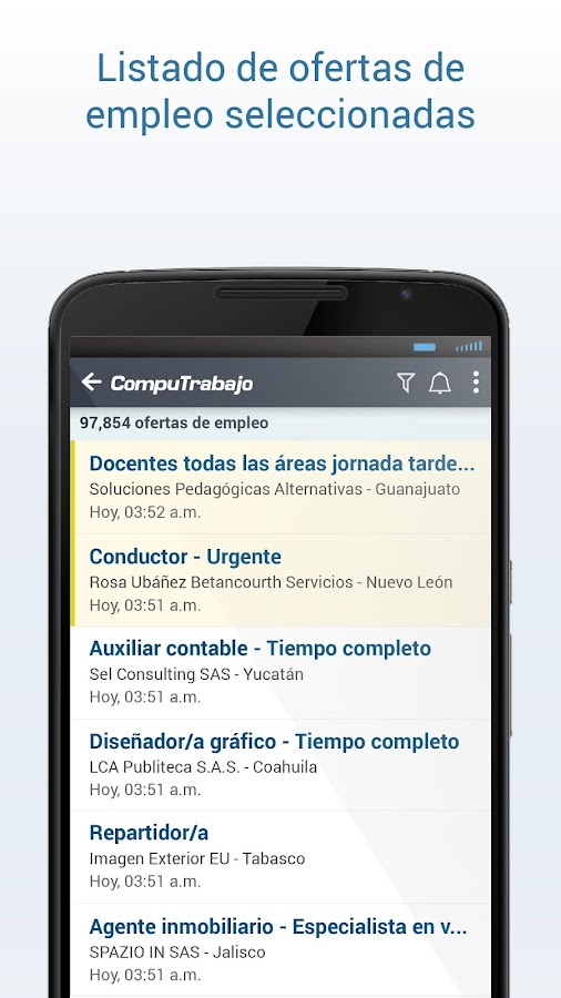 Computrabajo ofertas de empleo android apps on google play - Ofertas de empleo en navarra ...