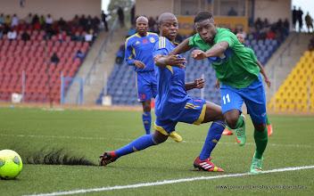 Photo: Abdulai Baggie [Leone Stars v Swaziland 18 May 2014 (Pic: Darren McKinstry)]
