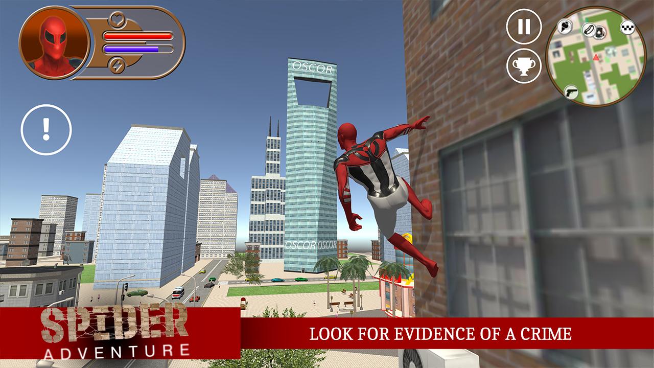 Spider Adventure- screenshot