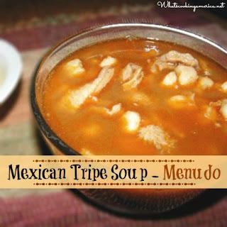 Mexican Tripe Soup Recipe - Menudo Soup