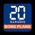 20 Minutes Bons Plans icon