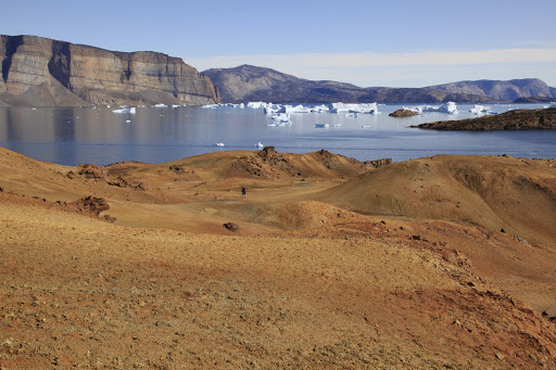 Visit Disko Bay, Greenland on a Hurtigruten cruise.