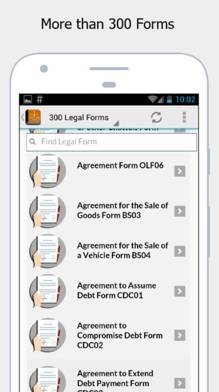 Legal Forms  Android Apps On Google Play