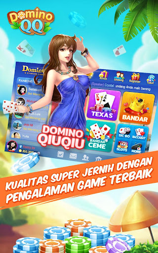 Domino99.Domino QQ:Bandar QQ:Pulsa 2.2.0.0 screenshots 1