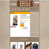 Screenshot of Neicy's Knick Knacks