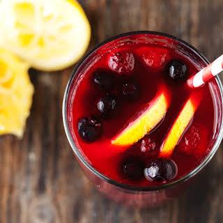 Sexy Sparkling Berry Lemonade.